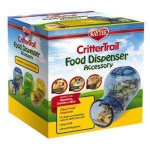 KAYTEE CRITTERTRAIL FOOD DISPENSER ACCESSORY -YELL